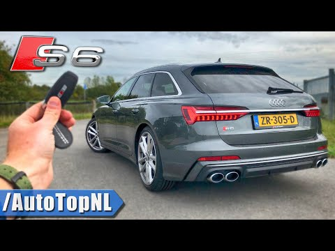 2020 AUDI S6 Avant REVIEW POV On ROAD & AUTOBAHN (NO SPEED LIMIT) By AutoTopNL