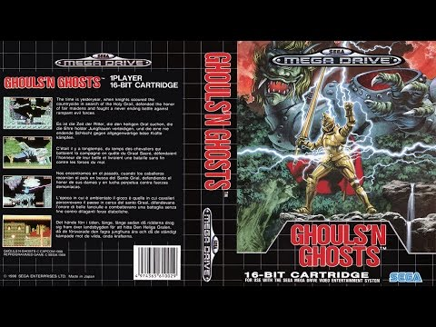 Sega Genesis Longplay [002] - Ghouls 'N Ghosts (No Hits, Per