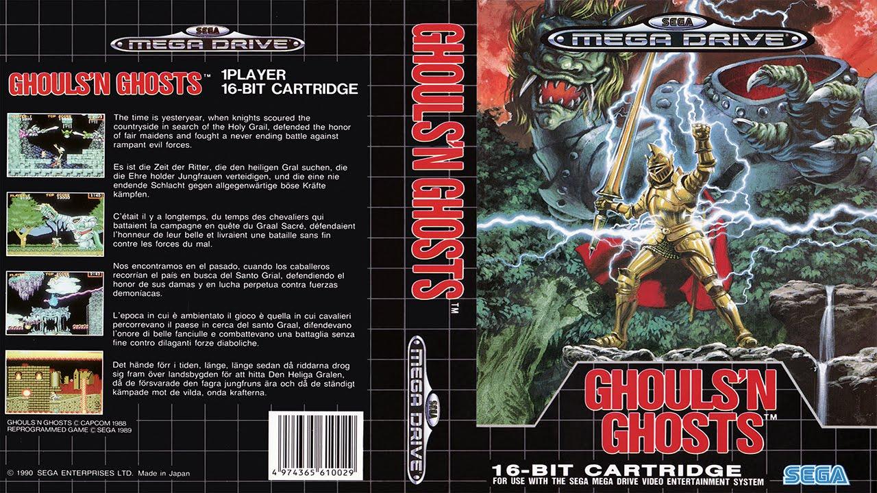 Ghouls'n Ghosts (SEGA Mega Drive)