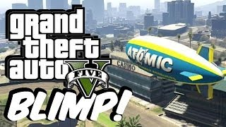 GTA ONLINE: Blimp GLITCH! (How to get)