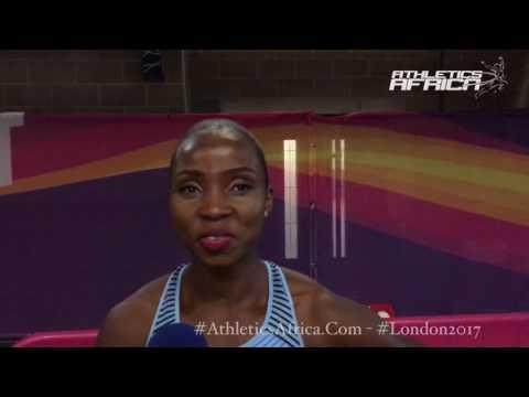 Interview: Lydia Jele ( Botswana) - 400m Women Semi Finalist - London 2017 IAAF World Championships