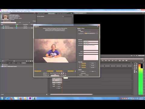 Adobe Premiere Pro CS6 Tutorial: Importing/Capturing