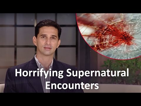Horrifying Supernatural Encounters - Attacks through Blood Stains
