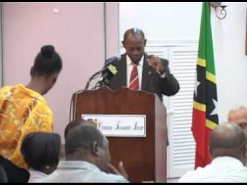 St. Kitts and Nevis' Prime Minister Addresses Chamber Luncheon