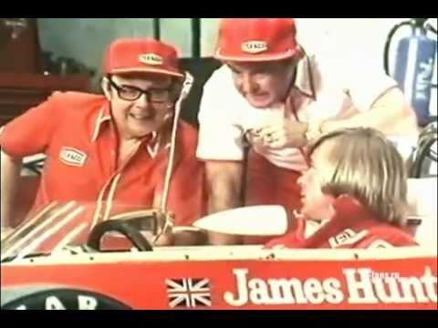 Джеймс Хант в рекламе Texaco / James Hunt commercial Texaco