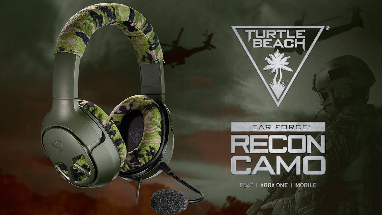Image result for Turtle Beach: Recon Camo Multiplatform Gaming Headset