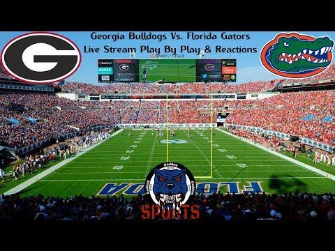 Georgia Bulldogs Vs. Florida Gators Live Stream Play By Play & Reactions