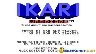 Ikari Warriors gameplay (PC Game, 1986)