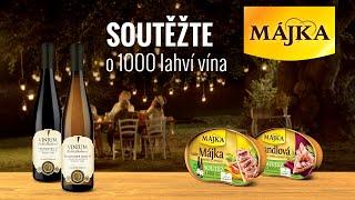 MÁJKA | Vyhrajte víno na celý rok