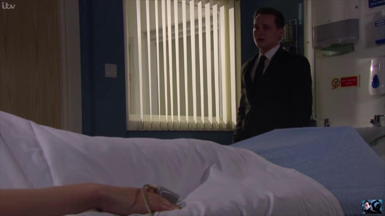 Emmerdale Rebecca in a coma in hospital 1