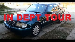 Gambar cover 1997 Mercedes Benz w202 c240 Start Up, Engine, and In Depth Tour