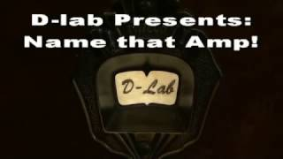 Name that D-lab electronics Philco radio tube amp 6V6 Fender Deluxe Boutique creation