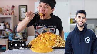 Yassuo (Moe) React to Matt Stonie Eating Epic Chili Cheese Fries!! (10,120 Calories)