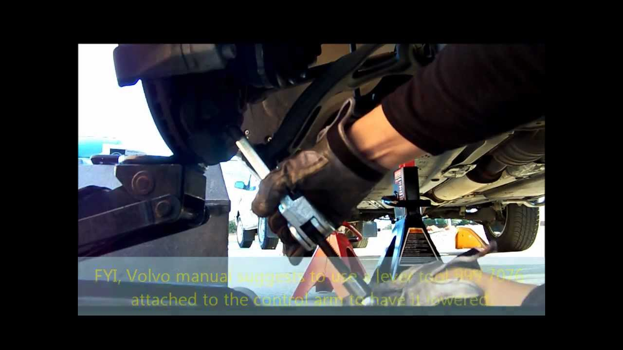 Volvo XC90 2004 Removing Drive Shaft - YouTube