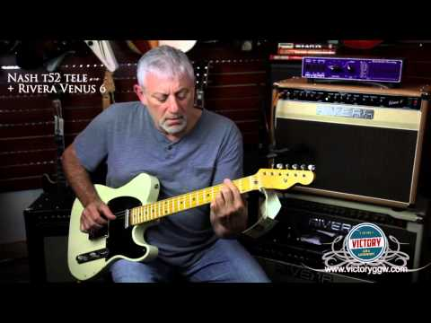 VictoryGGW.com Bill Nash T-52 Mary Kay White Tele / Rivera Venus 6