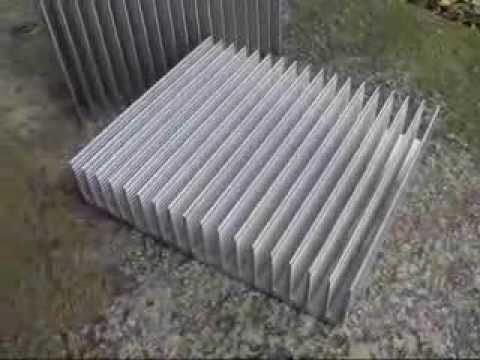 Алюминиевый радиатор отопления, как добавить скрутить секции .