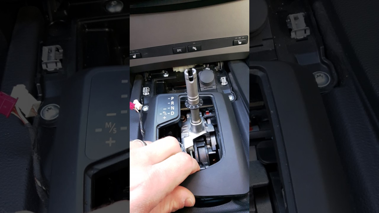 How to repair BMW e60 e61 Automatic transmission D to DS Part 1