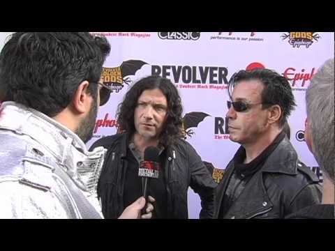 RAMMSTEIN Interview at Revolver Golden Gods 2011 on Metal Injection