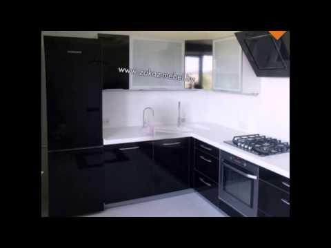 Черно-белые кухни подборка фото - YouTube