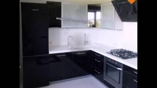 видео Черно-белая кухня