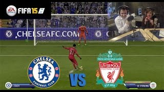 Chelsea v Liverpool FIFA 15 League Cup Challenge. NO NOISE ALLOWED!