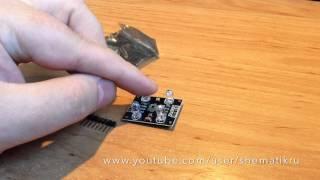Датчик цвета для самоделок на Arduino(Датчик цвета для эксперимента по созданию своего без софтового Ambilight своими руками. Брал в конторке дяди..., 2014-09-06T15:41:12.000Z)