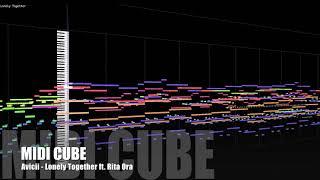 【MIDI Full Cover】 Avicii - Lonely Together ft. Rita Ora   MIDI CUBE   Instrumental   Karaoke