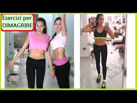 perdere peso gambe e pancia