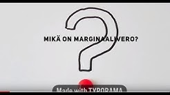 Mikä on marginaalivero?
