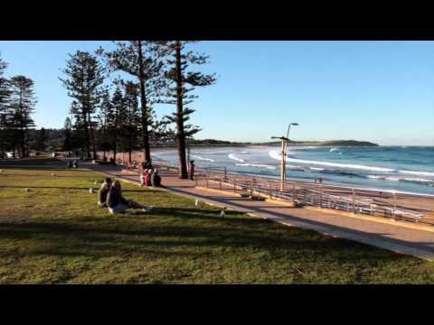 Brazil Austrália - Conhecendo Dee Why em Sydney, Austrália