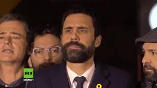 Spanien: Kundgebung fordert Freiheit für inhaftierte katalanische Unabhängigkeitsführer