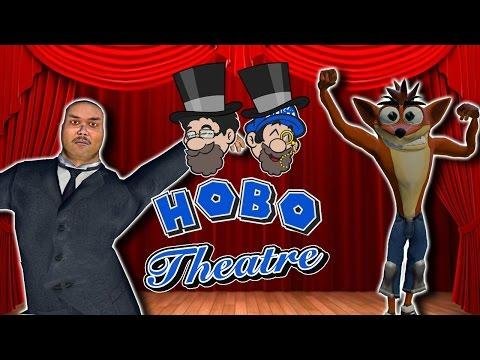 Crash Bandicoot and the Dancing Pirates || HOBO THEATRE || HOBO BROS