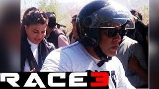 Salman Khan & Jacqueline BIKE RIDE At LOC Kargil | RACE 3