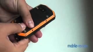 Обзор защищенного телефона SENSEIT P4 от Mobile Review