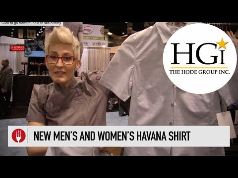 Men's and Women's Havana Server's Shirts | Chef Works