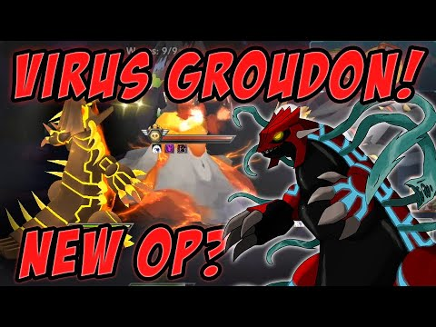Overlord Virus Groudon / Earth Devil - First impressions - Pokeland Legends