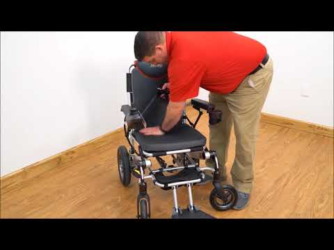 Jazzy Passport Lightweight Folding Electric Wheelchair