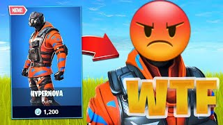 FORTNITE RETURN MY SKIN HIPERNOVA YAAA🤬🤬
