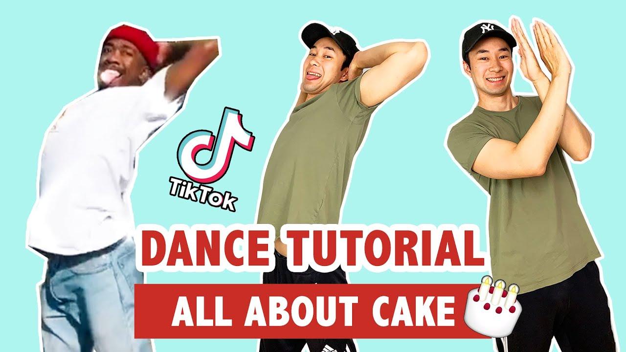 ALL ABOUT CAKE TUTORIAL (SLOW)   TIK TOK DANCE