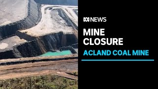 Acland coal mine wraps up operations as legal battle continues | ABC News