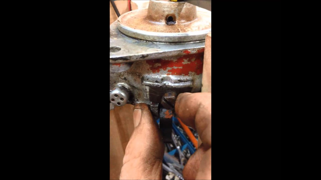 Timing 2n 9n 8n Ford Front Mount Distributor Youtube