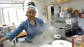 RAVA MASALA DOSA, INDIAN STREET FOOD, SSTREET FOOD IN LONDON 2016