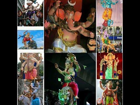 Top 35 Ganesha / Ganpati Aagman of Mumbai 2016