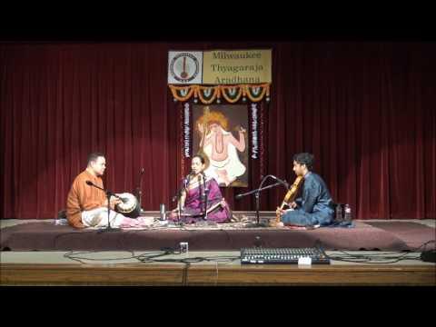 Dr Padma Sugavanam sings 'Bhavayami Gopala Balam' in Raga Yamuna Kalyani Composer - Sri Annamacharya