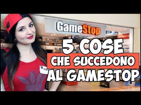 5 COSE CHE SUCCEDONO AL GAMESTOP!