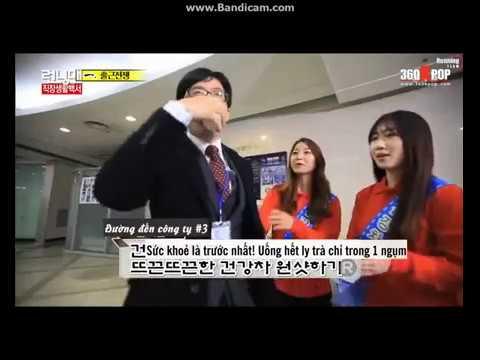 (Running Man) Khi các thành viên RM uống trà Gosam siêu đắng #1