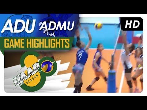 UAAP 80 WV: AdU vs. ADMU   Game Highlights   February 21, 2018