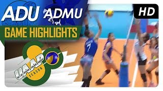 UAAP 80 WV: AdU vs. ADMU | Game Highlights | February 21, 2018