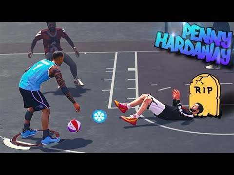 PENNY Hardaway Shot Creating Playmaker Is An Ankle Bully - NBA 2K18 3v3 Park