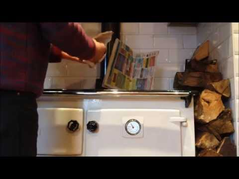 How to light a waterford stanley solid fuel range range